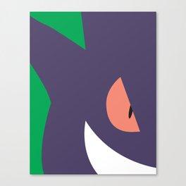 Close Up Art - Geng Canvas Print