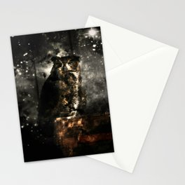 Owl Eyes on You Stationery Cards