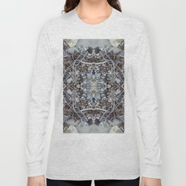 Pebbles and Twigs (Mandala-esque #3) Long Sleeve T-shirt