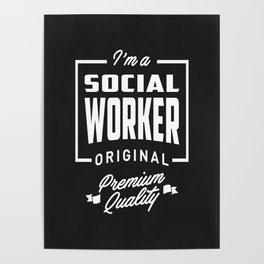 Gift for Social Worker Poster