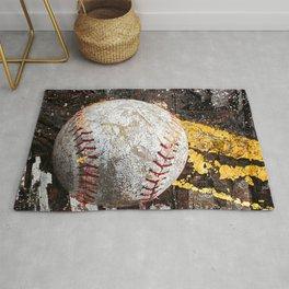 Baseball picture variation 3 Rug