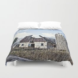 Wisconsin Old Barn 3 Duvet Cover