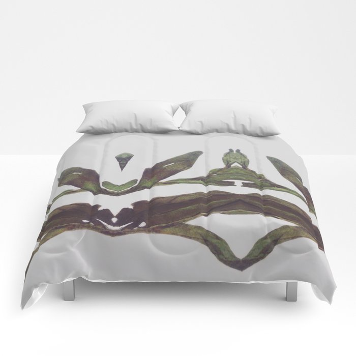Olive Wings Comforters