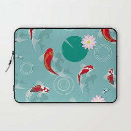 Koi swim in the clear water Laptop Sleeve