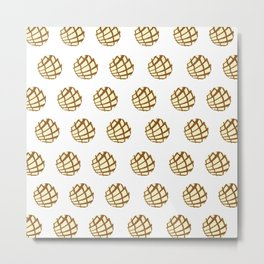 Concha pattern Metal Print
