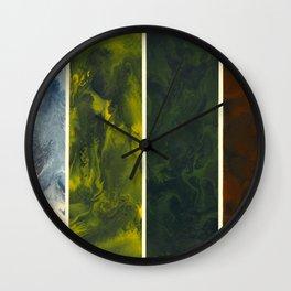 Marble Seasons Wall Clock