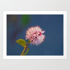 Flora In Art Art Print
