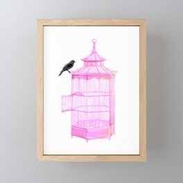 Brooke Figer - PRETTY smart BIRD Framed Mini Art Print