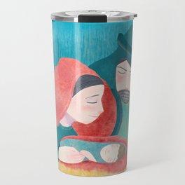 Lucas 2:11 El Nacimiento de Jesucristo Travel Mug