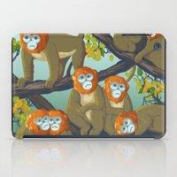 arctic monkeys iPad Cases featuring Monkeys by Beesants