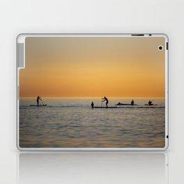 Water sports stand up paddling Laptop & iPad Skin