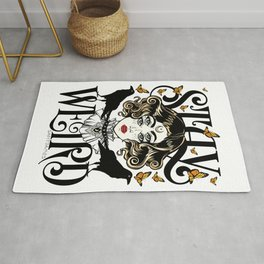 Rose and The Ravens | Stay Weird Rug