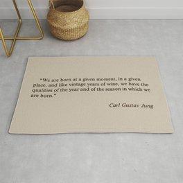 Carl Gustav Jung Rug