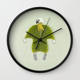 Wingsuit Flying Wall Clock