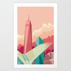 WTC NYC Art Print