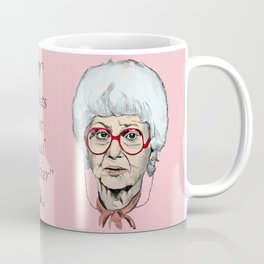 Sophia Petrillo from The Golden Girls (Pink) Coffee Mug
