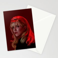 Laura Palmer from Twin Peaks Stationery Cards