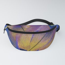 Pheasant Feathers Abstract Fanny Pack