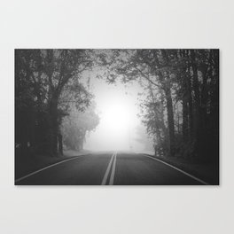 The Path Untraveled Canvas Print