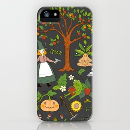 Witch Garden iPhone Case