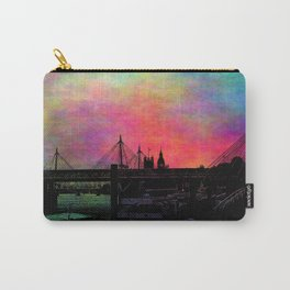Psychedelic Thames skyline Carry-All Pouch