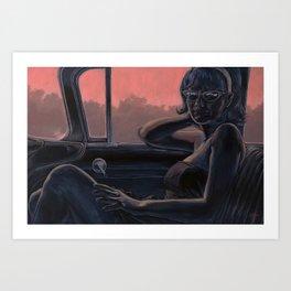 Between Towns Art Print
