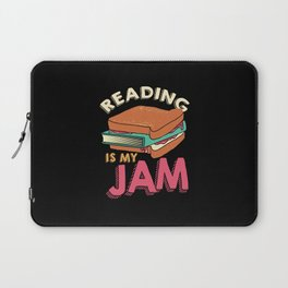 Reading Books Book Read Gift Laptop Sleeve