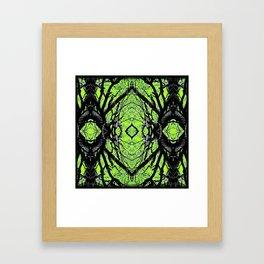Symmetry Illusion  Framed Art Print