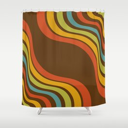 Wavi Shower Curtain