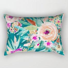 GOOD LIFE Colorful Floral Rectangular Pillow