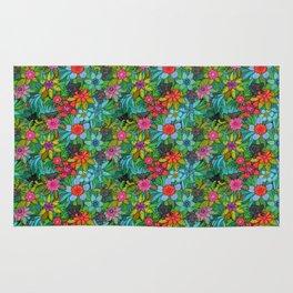 Pattern kitties and flowers Rug