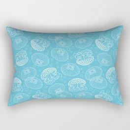 Blue Jellies Rectangular Pillow