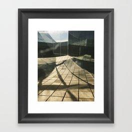 Shreds and Shards Framed Art Print