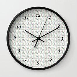 Croisement C2 Wall Clock