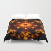 demon Duvet Covers featuring Demon by Shadow Chocobo
