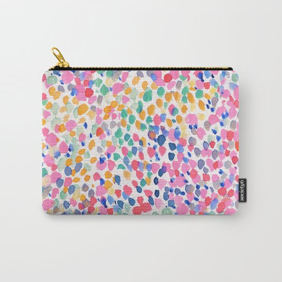 Lighthearted (Pastel) Carry-All Pouch