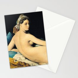 Jean Auguste Dominique Ingres, The Grand Odalisque Stationery Cards