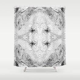 Orbital Theory: S.P.D.F... Shower Curtain