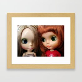 We Know Framed Art Print