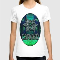 astrology T-shirts featuring Cancer Zodiac Sign Astrology by CAP Artwork & Design