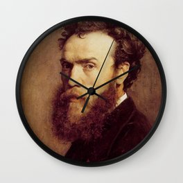 Jean-Paul Laurens - Autoritratto Wall Clock