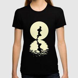 Running Moon T-shirt