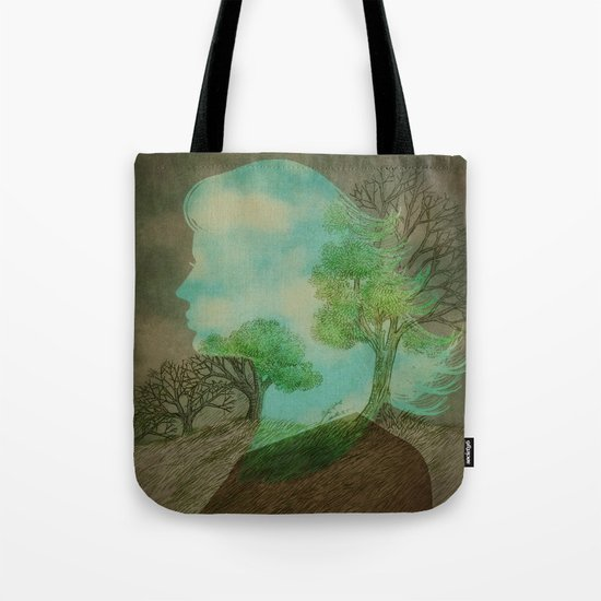 Remember Blue Skies Tote Bag