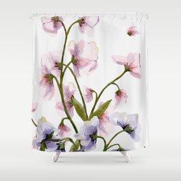 Flowers -a57 Shower Curtain