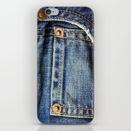 Texture #17 Jeans iPhone Skin