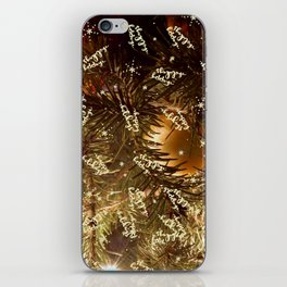 Happy holidays you magical Christmas tree, you! iPhone Skin