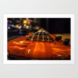 Bass Of Ace Art Print