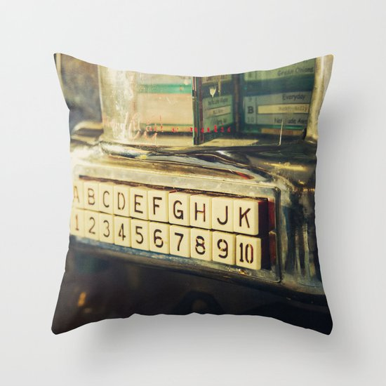 Please Make Your Selection Throw Pillow
