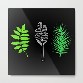 Hint of green Metal Print