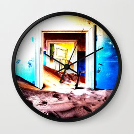 LA PORTE Wall Clock